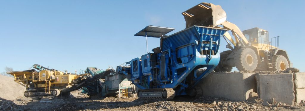 Portable Crushing - Cherry Companies